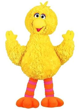 Sesame Street Big Bird 14 inch plush doll