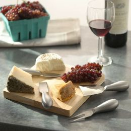 Cheese Knife Set with Cutting Board
