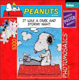 Peanuts Literary Ace Photomosaic 1000 Piece Puzzle