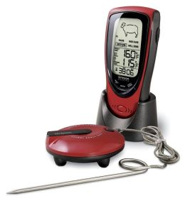 Grill Right BBQ/Oven Wireless Talking Meat Thermometer