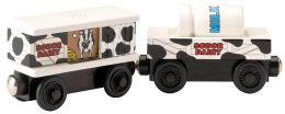Thomas & Friends Wooden Vehicles - Sodor Dairy Cars