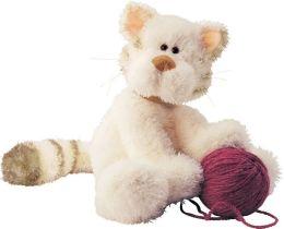 Mussy plush cat