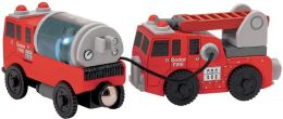 Thomas & Friends Wooden Vehicles - Sodor Fire Crew