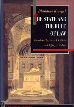 The State and the Rule of Law:
