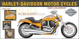 2007 Harley Davidson Wall Calendar