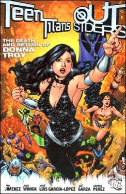 Teen Titans/Outsiders: The Death and Return of Donna Troy