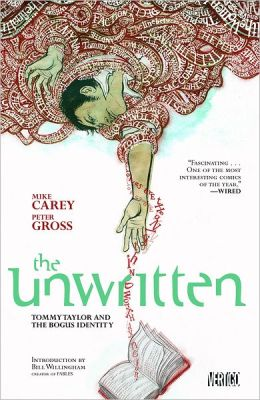 The Unwritten Volume 1: Tommy Taylor and the Bogus Identity (NOOK Comics with Zoom View)
