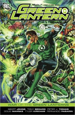 Green Lantern: War of the Green Lanterns (NOOK Comics with Zoom View)