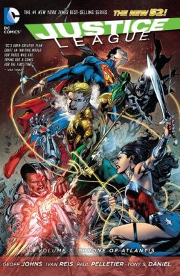 Justice League Volume 3: Throne of Atlantis (The New 52)