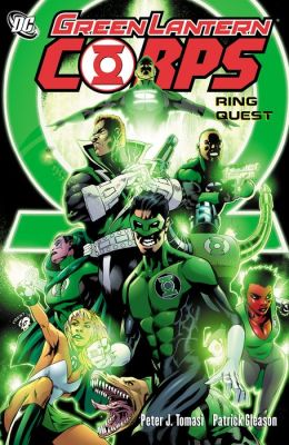Green Lantern Corps: Ring Quest (NOOK Comic with Zoom View)