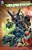 Book Cover Image. Title: Justice League Vol. 5:  Forever Heroes (The New 52) (NOOK Comic with Zoom View), Author: Geoff Johns