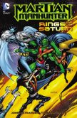 Book Cover Image. Title: Martian Manhunter:  Rings of Saturn (NOOK Comic with Zoom View), Author: John Ostrander