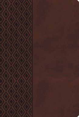 Holy Bible: New King James Version, Dark Brown, Leathersoft, Center-Column Reference Bible