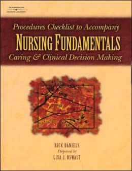 Nursing Fund Skills Checklists
