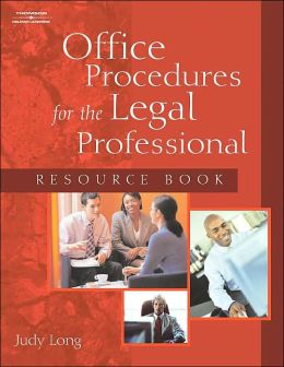 Legal Professional Rsrce Book