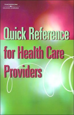 Quick Reference for Health Care Providers