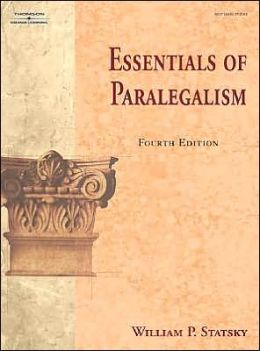 Essentials of Paralegalism