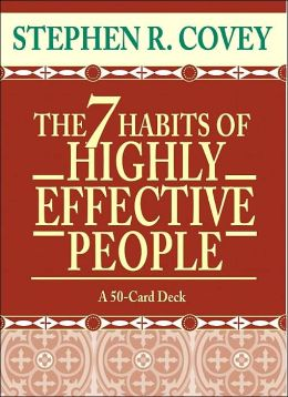 The 7 Habits of Highly Effective People (50 card deck)