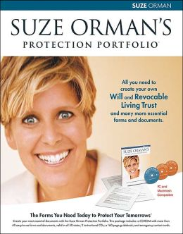 Suze Orman's Protection Portfolio: The Forms You Need Today to Protect Your Tomorrows