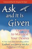 Book Cover Image. Title: Ask and It Is Given:  Learning to Manifest Your Desires, Author: Esther Hicks