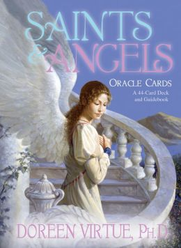 Saints and Angels Oracle Cards: A 44-Card Deck and Guidebook