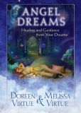 Book Cover Image. Title: Angel Dreams:  Healing and Guidance from Your Dreams, Author: Doreen Virtue