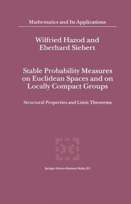 Stable Probability Measures on Euclidean Spaces and on Locally Compact Groups: Structural Properties and Limit Theorems