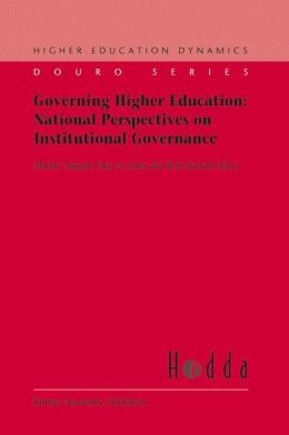 Governing Higher Education: National Perspectives on Institutional Governance