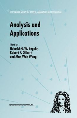 Analysis and Applications - ISAAC 2001