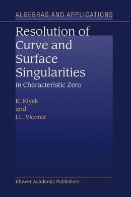 Resolution of Curve and Surface Singularities in Characteristic Zero