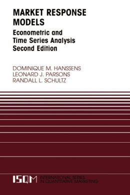 Market Response Models: Econometric and Time Series Analysis