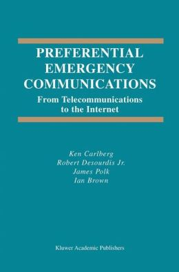 Preferential Emergency Communications: From Telecommunications to the Internet