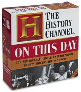 2008 History Channel On This Day Box calendar