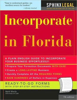 Incorporate in Florida