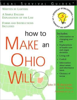 How to Make an Ohio Will