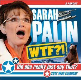 2012 Sarah Palin Wall Calendar