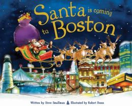 Santa Is Coming to Boston (PagePerfect NOOK Book)