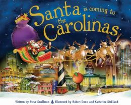 Santa Is Coming to the Carolinas (PagePerfect NOOK Book)