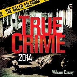 2014 True Crime Box Calendar
