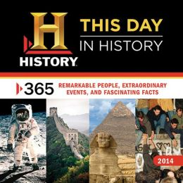2014 History: This Day in History Wall Calendar