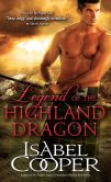 Book Cover Image. Title: Legend of the Highland Dragon, Author: Isabel Cooper