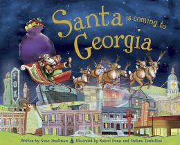 Santa Is Coming to Georgia (PagePerfect NOOK Book)