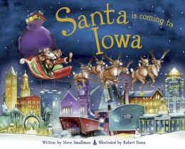 Santa Is Coming to Iowa (PagePerfect NOOK Book)