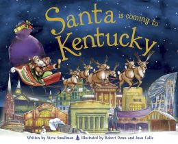 Santa Is Coming to Kentucky (PagePerfect NOOK Book)