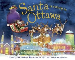 Santa Is Coming to Ottawa (PagePerfect NOOK Book)