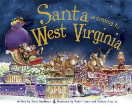 Santa Is Coming to West Virginia (PagePerfect NOOK Book)