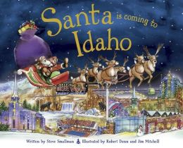 Santa Is Coming to Idaho (PagePerfect NOOK Book)