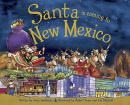 Santa Is Coming to New Mexico (PagePerfect NOOK Book)