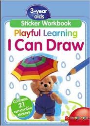Sticker Workbook: I can Draw
