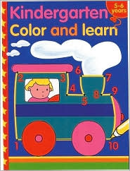 Kindergarten Color and Learn